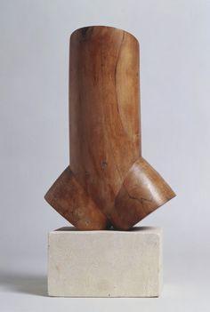 Constantin Brancusi . torso of a young man II, 1923