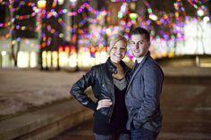 night time christmas photography