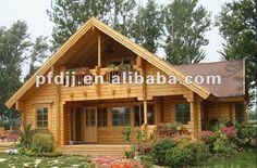 Excelente calidad con bajo precio de lujo madera house prefabricadas