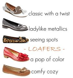 who doesn't love loafers?