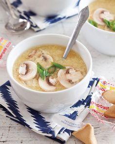 The Famous Egg Drop Soup @FoodBlogs