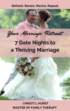 Your Marriage Retreat: 7 Date Nights to a Thriving Marriage E-book $25  #MarriageRetreat #marriage #marriagegoals #christianmarriage #godlymarriage