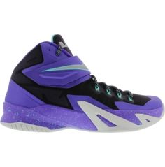 Nike Men's Zoom LeBron Soldier VIII Basketball Shoe - Purple/Turquoise | DICK'S Sporting Goods