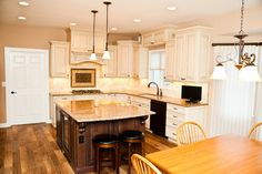 If YOU had room for an island in a new kitchen, would you expect to use it for sitting/dining at or just for meal prep?  - Design Build Pros
