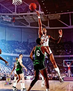 Wilt Chamberlain v. Bill Russell x Basketball PhotoOfficially licensed picture of basketball legends Wilt Chamberlain and Bill RussellThis officially licensed photo shows NBA Hall of Fame greats Wilt Chamberlain and Bill Russell battling . Bill Russell, Basketball Legends, Basketball Players, Wilt Chamberlain, Basketball Photography, Sport Icon, Sports Photos, Best Player, Black People