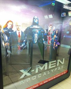 War schon jemand in dem neuesten X-Men?  Falls ja isser gut?  #xmen #Kino #premiere #cinema #kinobesuch #bodehase #nexttime