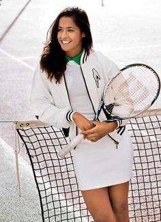 Nossa atleta tenista número 1 do Brasil, Teliana Pereira.