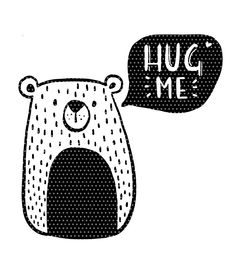 Plotter template Hug me Bär Cute bear as a solid color plot. For private use including a mini commercial license for 10 sales. For more sales, a bus. Kids Brand, Emoji, Cricut Baby Shower, Sketch Note, Baby Sewing Projects, My Bar, Fun Wedding Invitations, Hug Me, Cute Bears