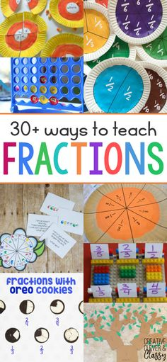 Teaching fractions can sometimes be frustrating. Try these 30+ hands-on activities to teach fractions to make learning a breeze.