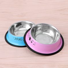 Arrival Pet Product For Dog Cat Bowl Stainless Steel Anti-skid Pet Dog Cat Food Water Bowl Pet Feeding Bowls Tool 2 Colors Suministros de mascotas Stainless Steel Bowl, Stainless Steel Types, Cat Garden, Fish Cat Toy, Dog Feeder, Doja Cat, Cat Feeding, Cat Supplies, Pet Bowls