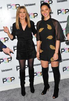 Jennifer Aniston & Olivia Munn