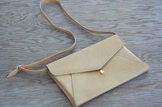 Vintage 90s Ferragamo Purse Handbag Clutch High by SycamoreVintage