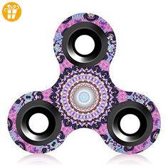 Omiky® Hand Spinner Tri Fidget Tri-Spinner 3D EDC Ball Focus Spielzeug Für Kinder / Erwachsene (#A) - Fidget spinner (*Partner-Link)