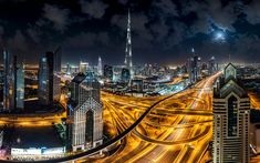 Wallpaper Burj Khalifa Skyscraper In City Dubai United Arabia