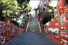 In 1990 Jorge Selarón decided to spruce up the steps outside his house in the neighbourhood of Lapa in Rio de Janeiro.