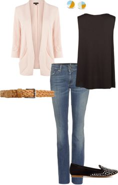 """Casual workwear"" by punkitra on Polyvore"