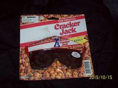 "Rare 1995 ""Cracker Jack"" Collectible Sunglasses! #BordenInc"