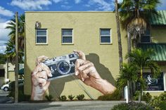 Anat Ronen: Mural for Sarasota International Street Painting Festival, 2011