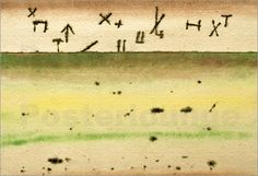 Paul Klee - Celestial Signs above Field
