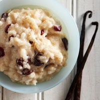 old fashion rice pudding