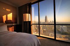 Marriott Marquis Hotel | 8 Fun Things to do in Atlanta | Travel City Guide | via @Just1WayTicket