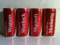 Sherlock plus Coke!