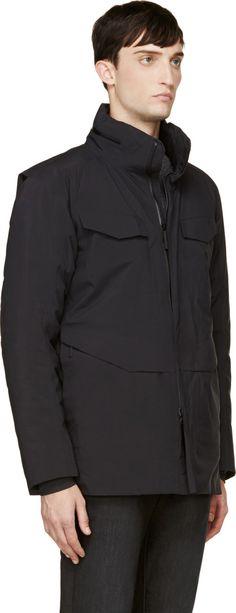 Arc'teryx Veilance: Black Field Jacket | SSENSE