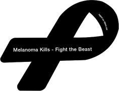 Black Cancer Ribbon