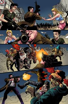 Zombie Cities 3 Preview Coming in 2013! A 66 page Zombie Apocalypse story set in Sydney! www.facebook.com/silverfoxcomics