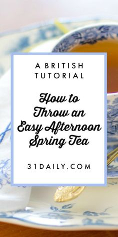 How to throw and easy afternoon tea party tea lover Afternoon Tea Recipes, Afternoon Tea Parties, English Afternoon Tea, Tea Party Sandwiches, Finger Sandwiches, High Tea Food, Pause Café, Brunch, My Tea