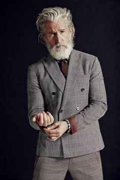 grey on gray (Aiden Shaw killing it for Departures Magazine.)