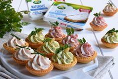 tartellette salate Tart Recipes, Sweet Recipes, Cooking Recipes, Mousse, Vol Au Vent, Bruschetta Recipe, Modern Food, Good Food, Yummy Food