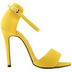 9e393ceea8af Summer Sandals Stilettos High Heel Fashion Buckle Popular Shoes Women  Feetwear Ankle Strap Shoes
