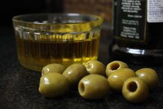 Olive oil, olives...yummy in every way