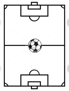 football field coloring sheets | Use these free images for your websites, art projects, reports, and ...