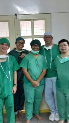So my coass mate and I goes to Siantar and met him (dr. Jan a specialist in hand surgery) we did learn a lot. thank you so much, dr. Eddy Sutrisno Hendrowarsito, Sp.BP (K) for the opportunity you gave us.