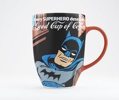 Every Superhero Deserves a Good Cup of Coffee