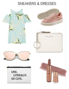 """💋🍭💓"" by madiiimarie ❤ liked on Polyvore featuring MANGO and Marc Jacobs"