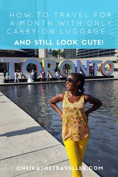 Here's how I travel (for up to 30 days with only carry-on luggage) without compromising my personal style!