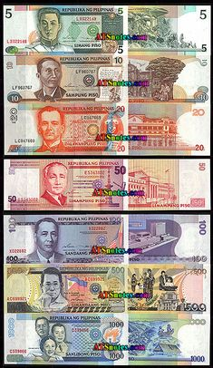 Philippines banknotes, Philippines paper money catalog and Philippine currency history Kids Timeline, Printable Play Money, Philippine Peso, Teaching Money, Money Notes, Money Pictures, Philippines Culture, Old Money, World