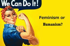 #Feminism isn't called Humanism or Egalitarianism because Egalitarianism and Humanism pre-existed the idea that '#women could or even should be recognized as persons' and didn't care to take up the cause of gender equity, or to combat homophobia, or racism, or other prejudices that human rights law seeks to eradicate.