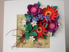 Quilling by Ada: Buchet de flori