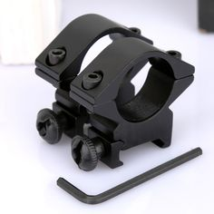 1 Pair Tactical Low Profile 25.4mm 1 inch Scope Rings Barrel Fit 20mm Picatinny Weaver Rail Mount Holder For Rifle Scopes Laser