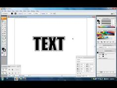 Illustrator Tutorial - Basic Text Effects