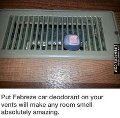 Make Any Room Smell Amazing - #LifeHack, #Tips, #Tricks