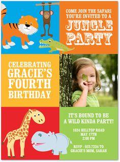 Kids Birthday Invitations Girls Boys Boys & Girls Sweet 16 Invitations