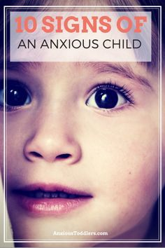 Do you have an anxious child? Learn the 10 most common signs of an anxious toddler. Timmy has more than a couple of these... Something to be on the lookout for.