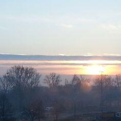 #warszawa #bielany #wschódsłońca #sunrise #now #nofilter