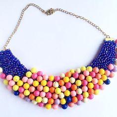 0 Instagram Photo Video, Beaded Necklace, Photo And Video, Polyvore, Jewelry, Beaded Collar, Jewlery, Bijoux, Schmuck