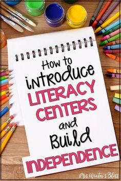Ideas and free resources for teachers who are introducing Daily 5 or reading centers to kindergarten, first, or second grade students. Activities to keep kids accountable at work stations while you teach small groups. #literacycenters #kindergarten #firstgrade #secondgrade #freebie #teachingreading #teachingwriting #classroommanagement #mrswintersbliss